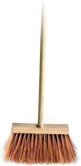 Smeták dřevěný s násadou Spokar