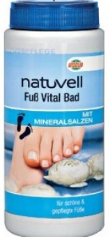 Koupel na nohy Natuvell Vital