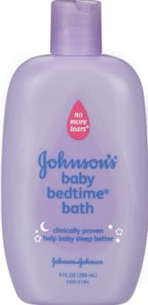 Koupel pro dobré spaní dětská Johnson's Baby
