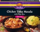 Kousky kuřecích prsou s rýží mražené Pilaf Vitasia