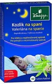 Doplněk stravy Kozlík na spaní Kneipp