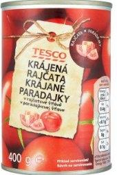 Rajčata krájená Tesco
