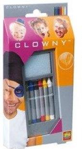 Kreativní tužky na obličej Clowny