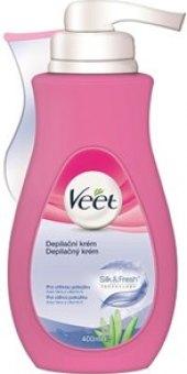 Krém depilační  + stěrka Veet
