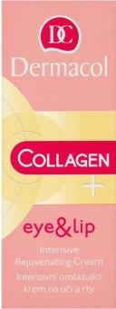 Krém na oči a rty omlazující Collagen+ Dermacol