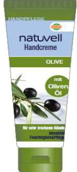 Krém na ruce olivový olej Natuvell