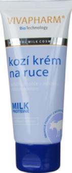 Krém na ruce s kozím mlékem Vivapharm