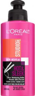 Krém na vlasy Hot&Sleek Studio Line L'Oréal