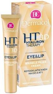 Krém proti vráskám na oči a rty Hyaluron Therapy 3D Dermacol