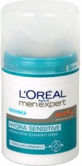 Krém pleťový pánský hydratační Hydra Sensitive Men Expert L'Oréal