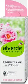 Krém pleťový bio Šípková růže Alverde
