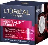 Krém pleťový proti vráskám Laser X3 Renew Revitalift L'Oréal
