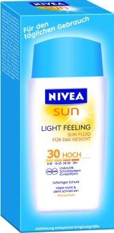 Krém pleťový na opalování Light Feeling Sun Nivea