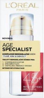 Krém pleťový remodelační Age Specialist L'oréal