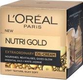Krém pleťový výživný Extraordinary Oil Nutri Gold L'oreal