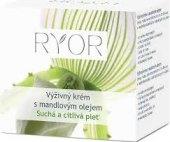 Krém pleťový výživný s mandlovým olejem Ryor