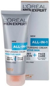 Krém po holení pánský All-in-1 Sensitive Men Expert L'Oréal