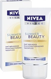 Krém Summer beauty Nivea Visage