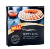 Krevety vařené glazované mražené Premium Billa