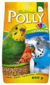 Krmivo kompletní pro andulky Polly Delicious