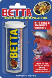 Krmivo pro bojovnici pestrou Micro Betta Pellets Zoomed