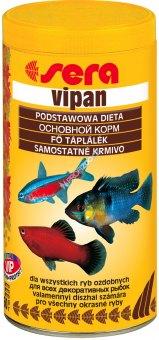 Krmivo pro okrasné ryby Vipan Sera