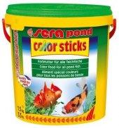Krmivo pro ryby color sticks Pond Granulat Sera