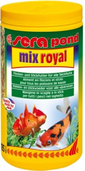Krmivo pro ryby Pond Mix Royal Sera