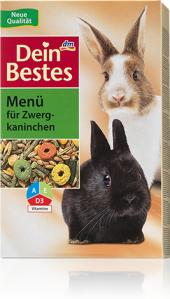 Krmivo pro zakrslé králíky Dein Bestes