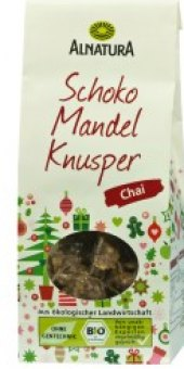 Mandle v čokoládě Chai Alnatura