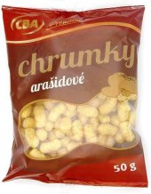 Křupky arašídové CBA