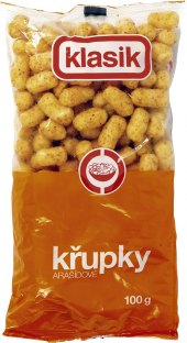 Křupky arašídové Coop Klasik