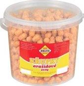 Křupky arašídové Delta - kbelík