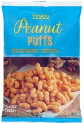 Křupky arašídové Tesco