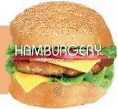 Kuchařka Hamburgery 50snadných receptů