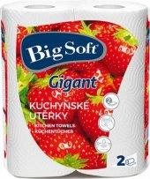 Kuchyňské utěrky 2vrstvé Big Soft