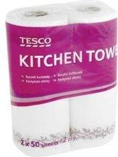 Utěrky kuchyňské papírové Tesco