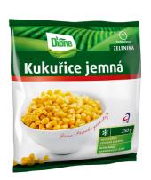 Kukuřice jemná mražená Dione