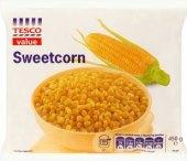 Kukuřice mražená Tesco