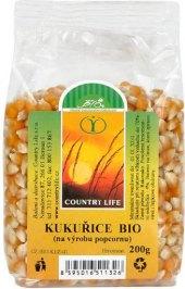 Kukuřice na výrobu popcornu bio Country Life