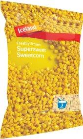 Kukuřice sladká mražená Iceland