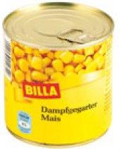 Kukuřice sterilovaná Billa