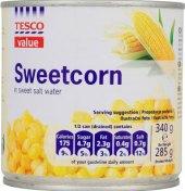 Kukuřice sterilovaná Tesco Value