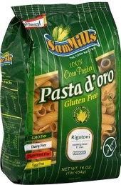 Těstoviny kukuřičné Pasta d'oro Sam Mills