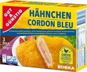 Kuřecí Cordon Bleu mražený Gut&Günstig Edeka