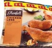 Čtvrtky kuřecí zadní mražené Glenfell
