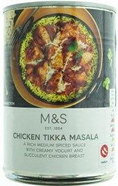 Kuřecí kousky v aromatické omáčce tikka masala Marks & Spencer