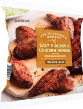 Kuřecí křídla pepř a sůl mražená Iceland