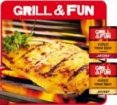 Kuřecí prsní řízky marinované Grill&Fun