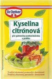Kyselina citronová Dr. Oetker